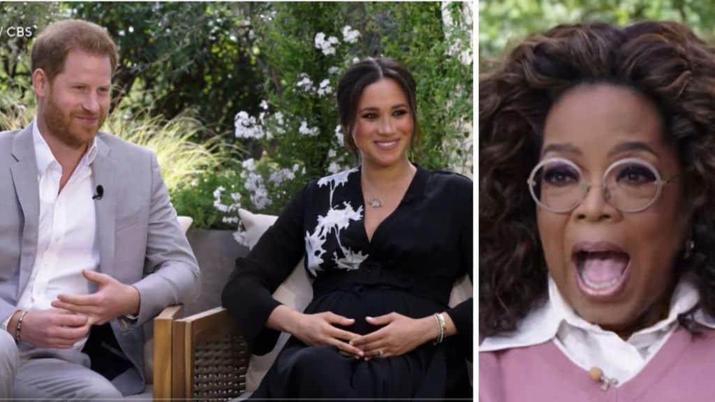 Harry e Meghan con Oprah Winfrey