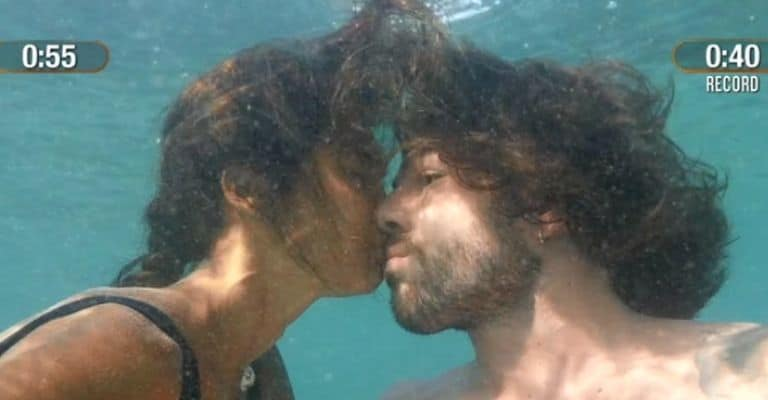 isola-dei-famosi-ignazio-moser-francesca-lodo-bacio