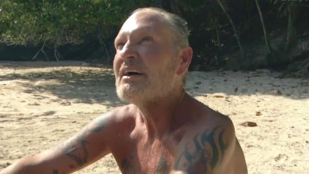 scontro tra angela melillo e paul gascoigne all'isola