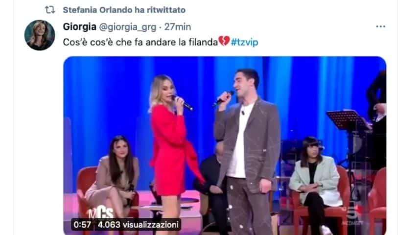 Omaggio Zorzi Orlando al Maurizio Costanzo Show