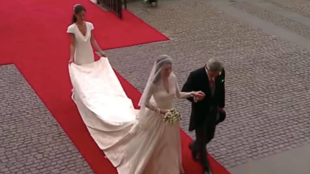 Pippa Middleton al matrimonio della sorella Kate