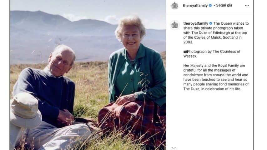 La foto preferita della Regina Elisabetta insieme al Principe Filippo