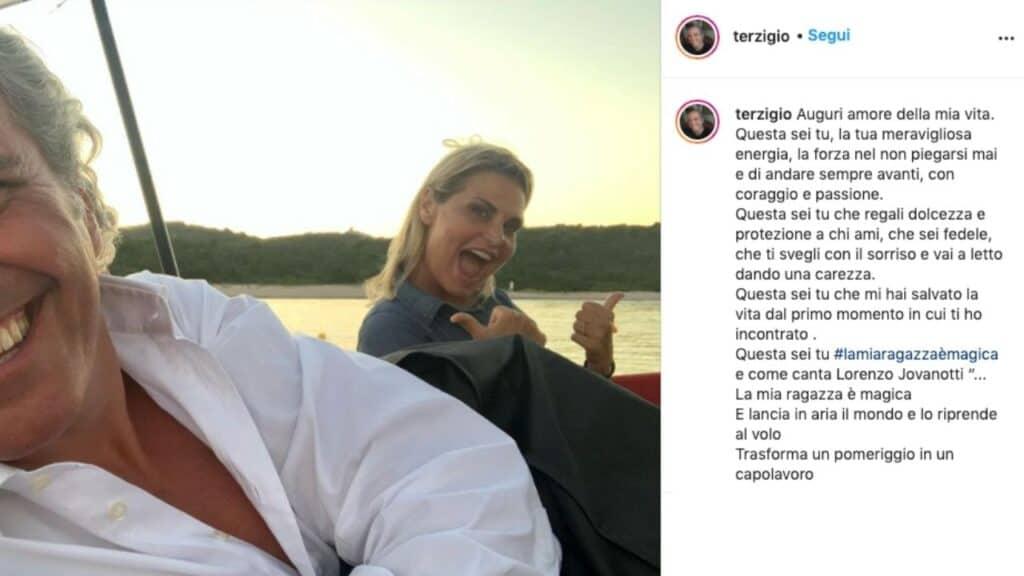 Simona Ventura compie 56 anni: Giovanni Terzi e la commovente dedica per il suo compleanno, non mancano gli auguri di Bettarini