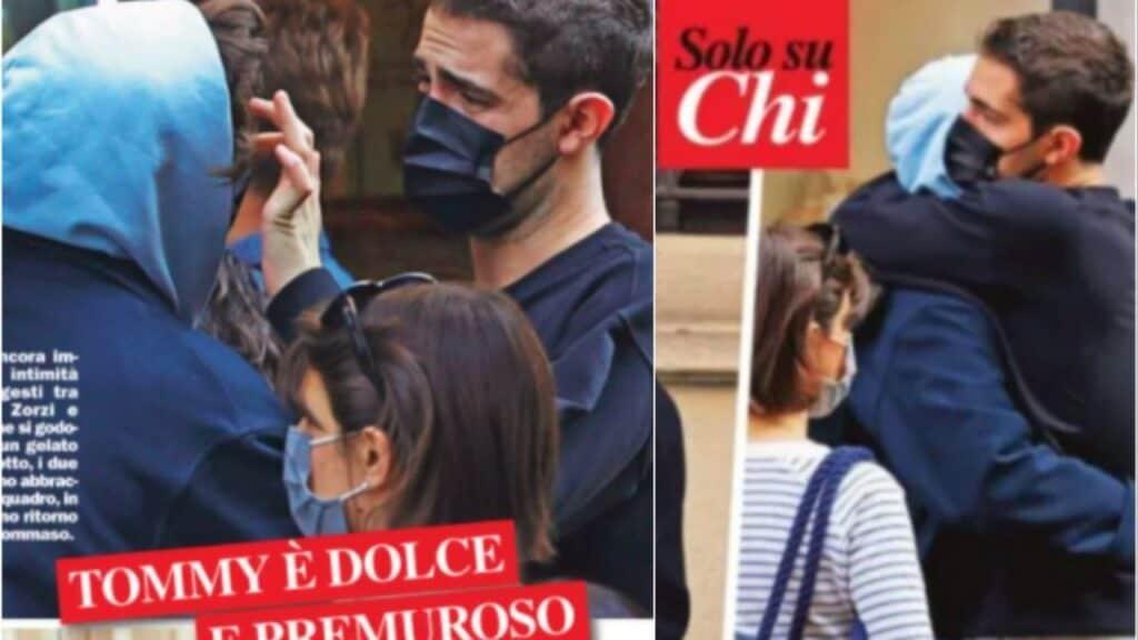 Tommaso Zorzi e Lorenzo Campo, c'è complicità tra l'opinionista dell'Isola e il rampollo torinese: gli scatti rubati a Milano