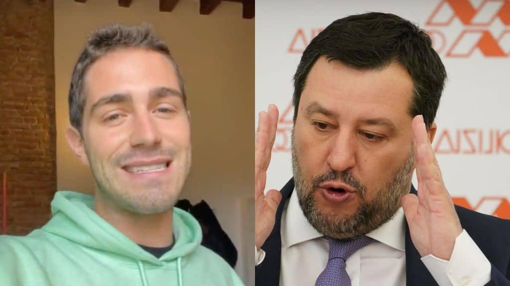 Tommaso Zorzi e Matteo Salvini, scontro su Instagram. Botta e risposta: