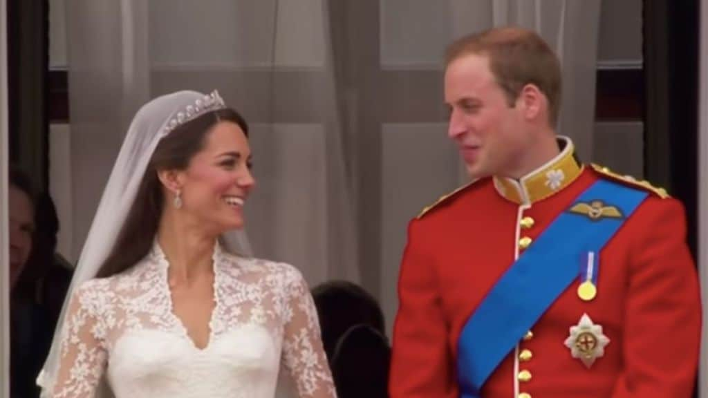 William e Kate nel giorno del matrimonio