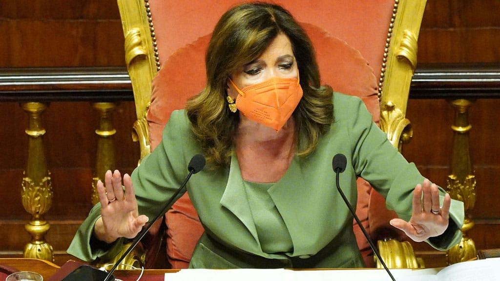 Elisabetta Casellati minacciata di morte