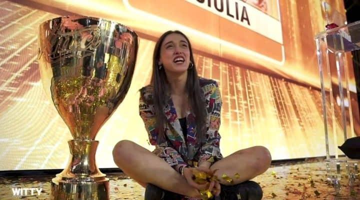 Giulia vince Amici 20