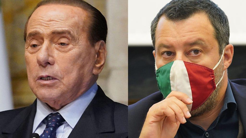Silvio Berlusconi: Matteo Salvini parla delle sue condizioni di salute
