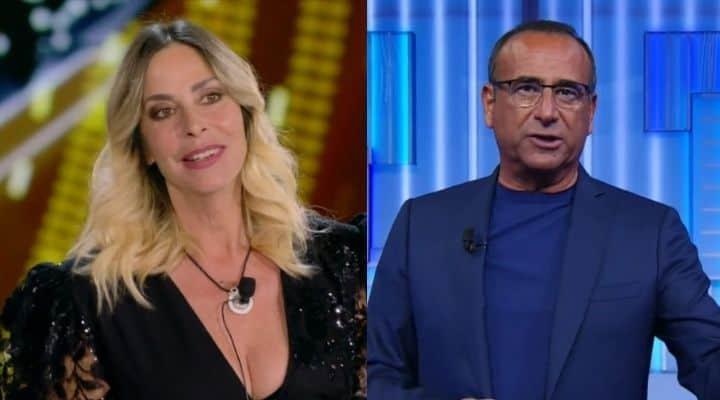 Stefania Orlando Carlo Conti