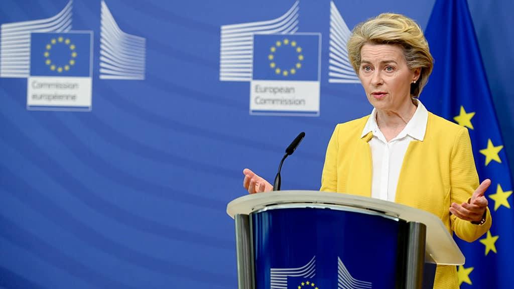 Ursula von der Leyen dà ragione all'Italia sull'intervento dell'Europa per il covid