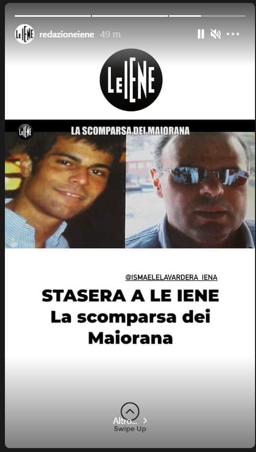 Anticipazioni le Iene 11 maggio: la scomparsa di Antonio e Stefano Maiorana