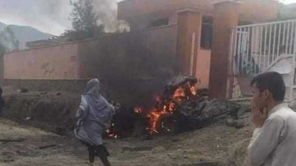 autobomba esplode davanti ad una scuola femminile di Kabul