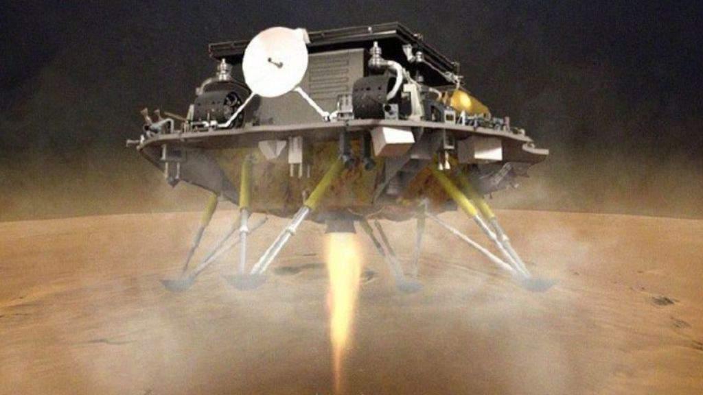 cina atterra su Marte