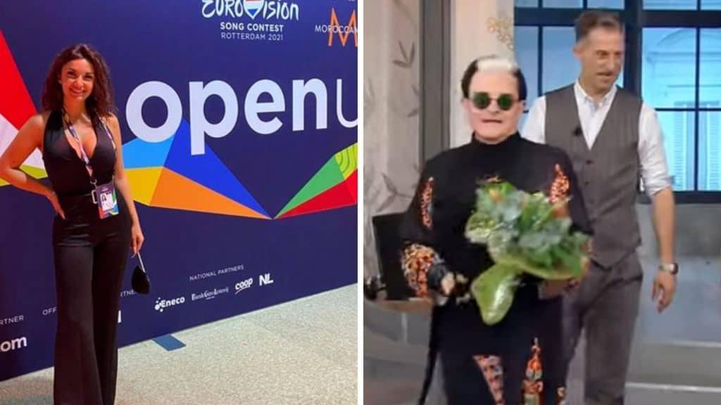 Elettra Lamborghini stuzzica Malgioglio all'Eurovision
