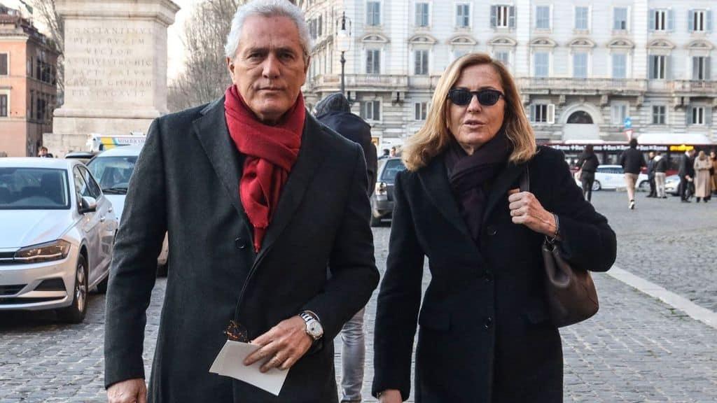 Francesco Rutelli e Barbara Palombelli