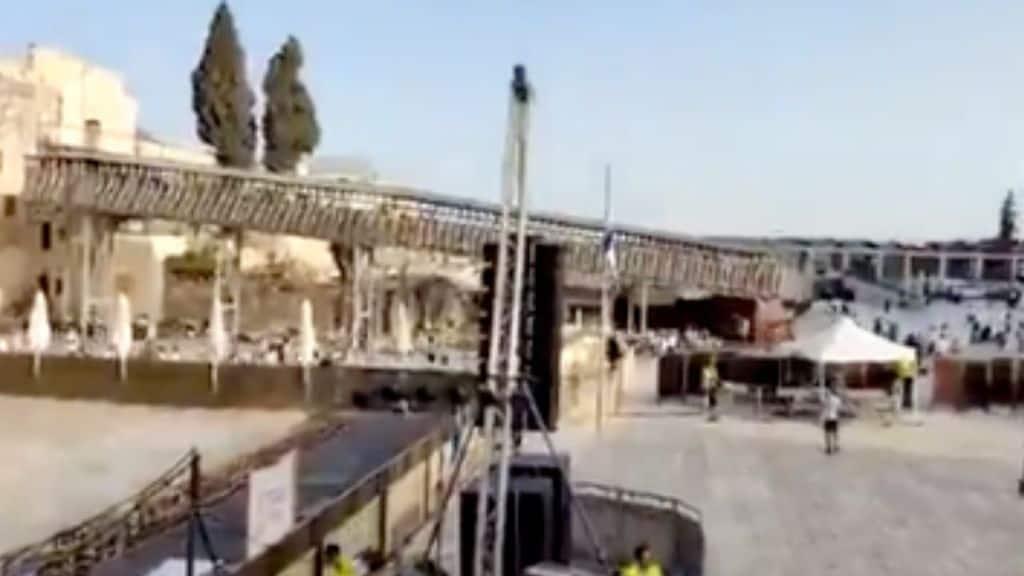 Gerusalemme, Hamas lancia 7 razzi dalla Striscia di Gaza: evacuato il Muro del Pianto il parlamento