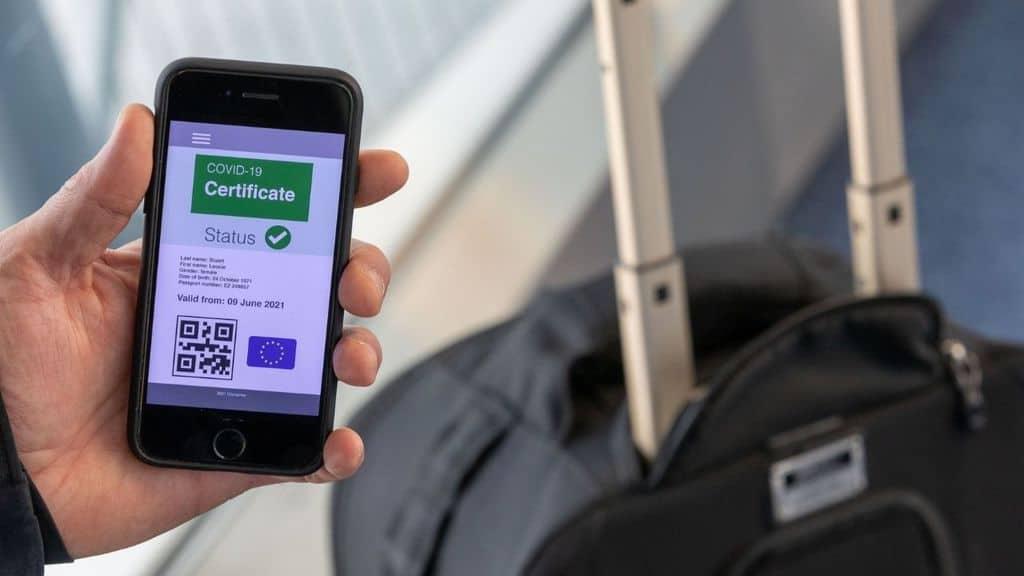 green pass europeo su app io, come funziona