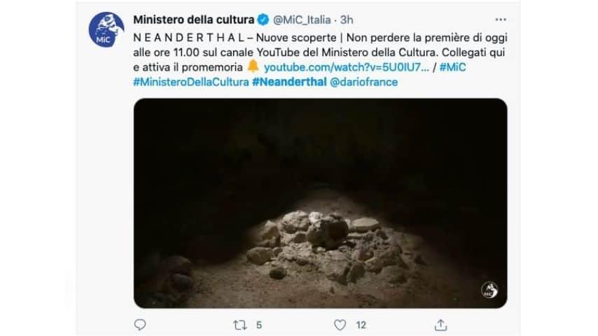 I ritrovamenti nella grotta di Guattari