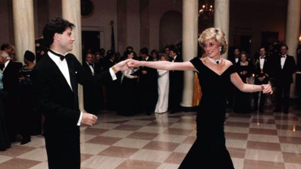 john travolta balla con lady diana