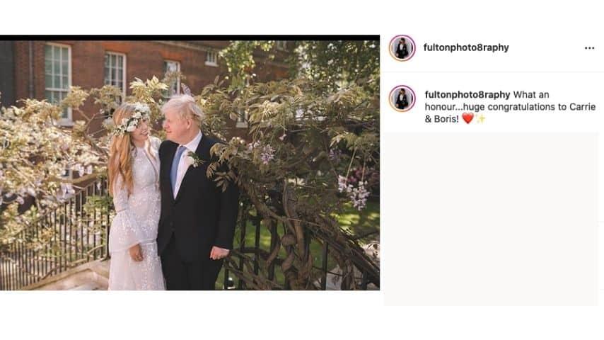 Il matrimonio di Boris Jhonson