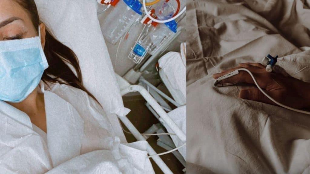 Nicoletta Larini operata