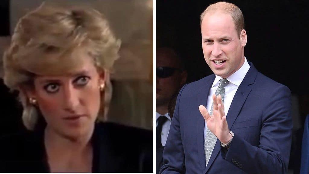 Il principe William commenta la vicenda dell'intervista a Lady D