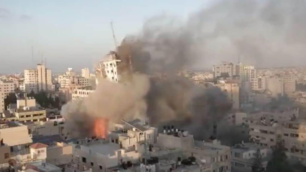 raid israeliani nella striscia di gaza
