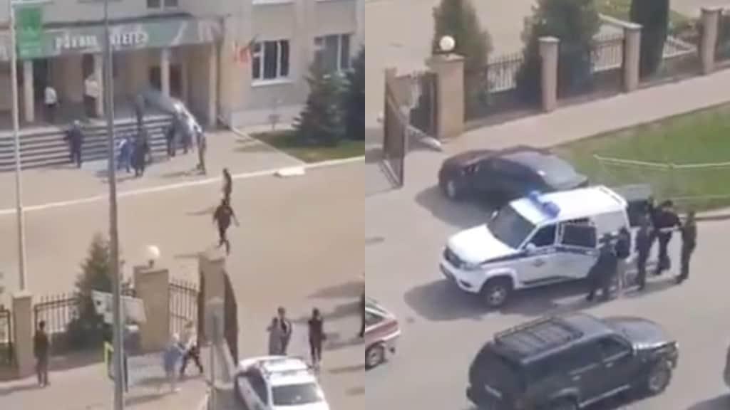 Strage in una scuola in Russia