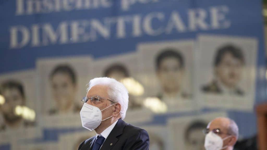 Sergio Mattarella ricorda la strage di Capaci