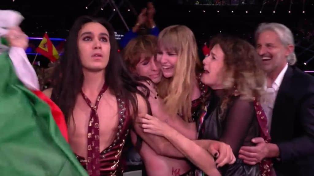 I maneskin vincono l'eurovision song contest