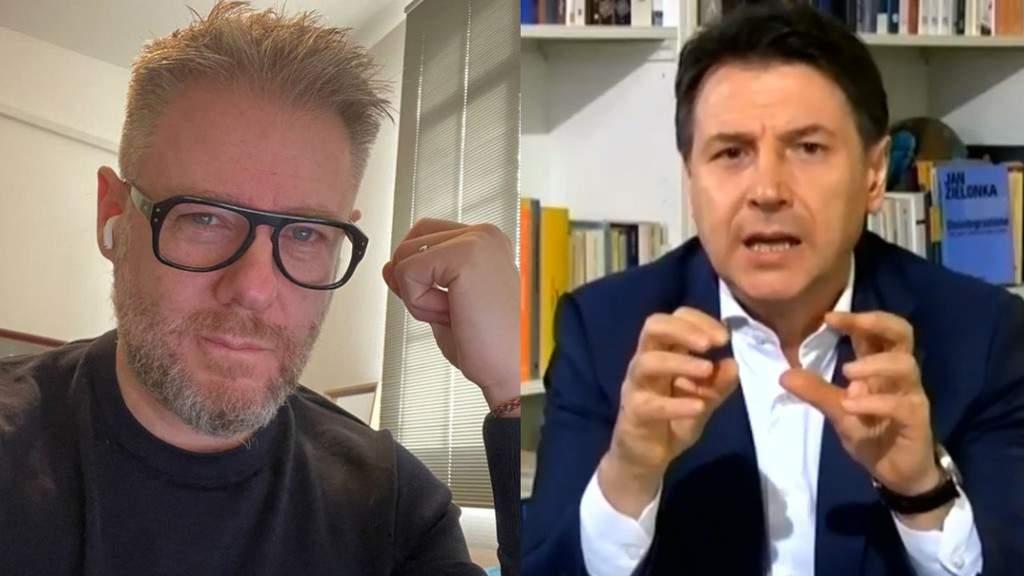 Giuseppe Conte e Paolo Borzacchiello