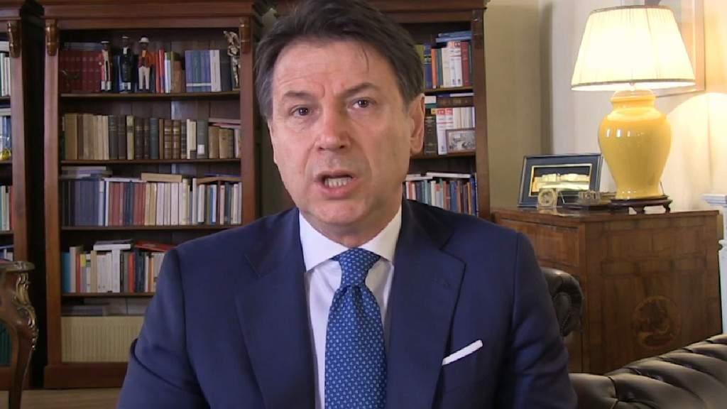 Giuseppe Conte discorso