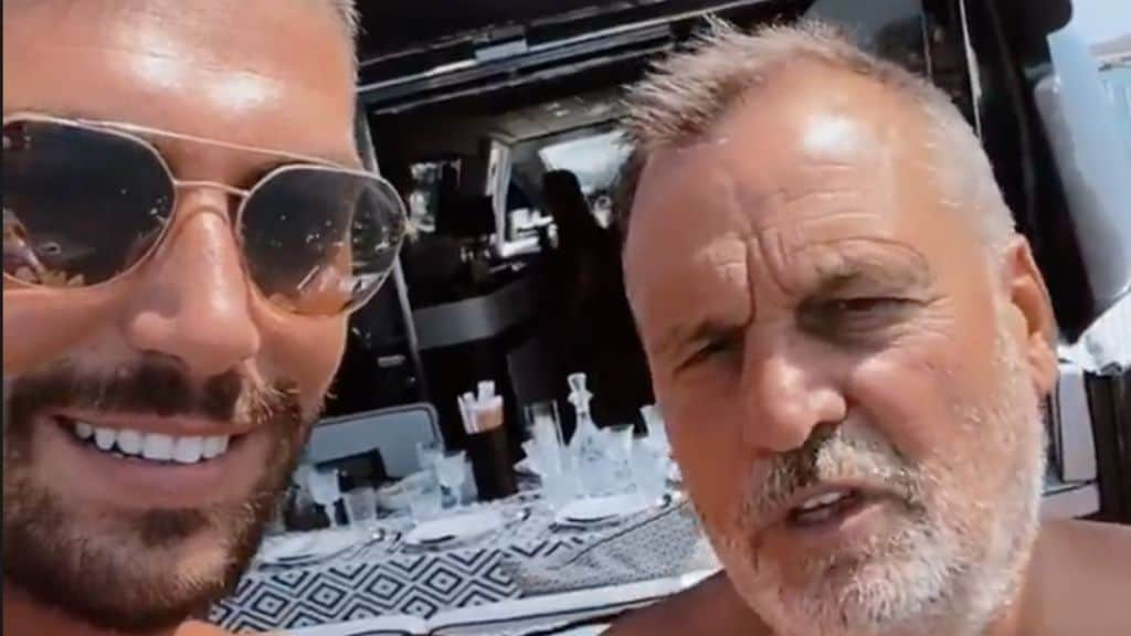 Ignazio Moser e Marco Tardelli