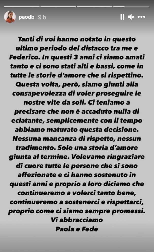 La Storia di Paola Di Benedetto
