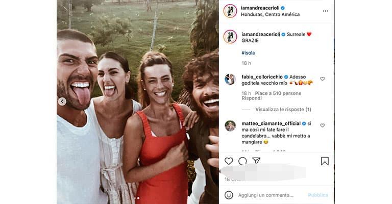 Post di Andrea Cerioli su Instagram