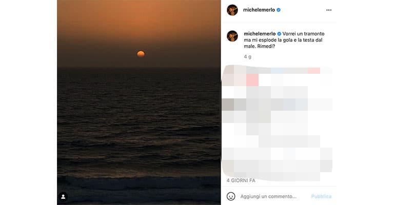 Post di Michele Merlo su Instagram