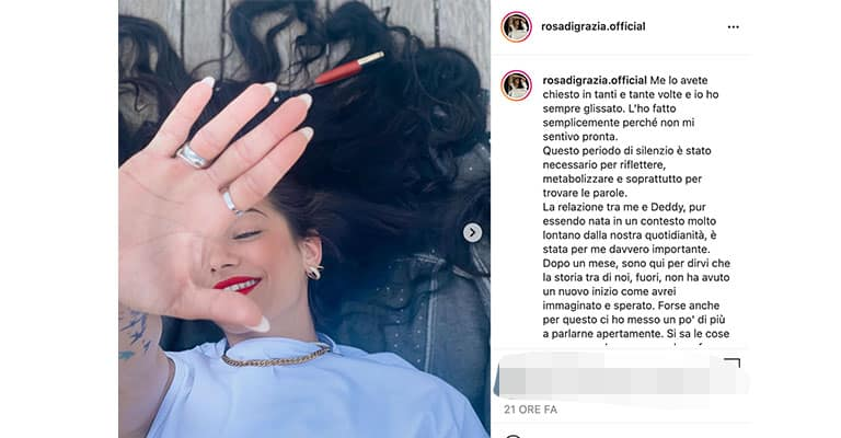 Post di Rosa Di Grazia su Instagram