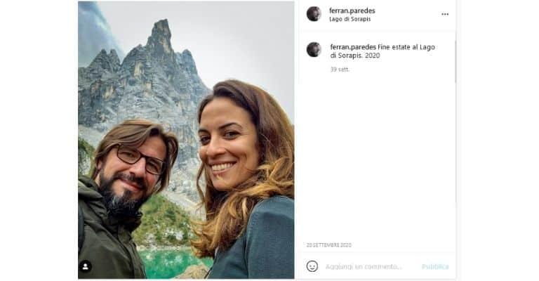 Serena Iansiti e Ferran Paredes Rubio