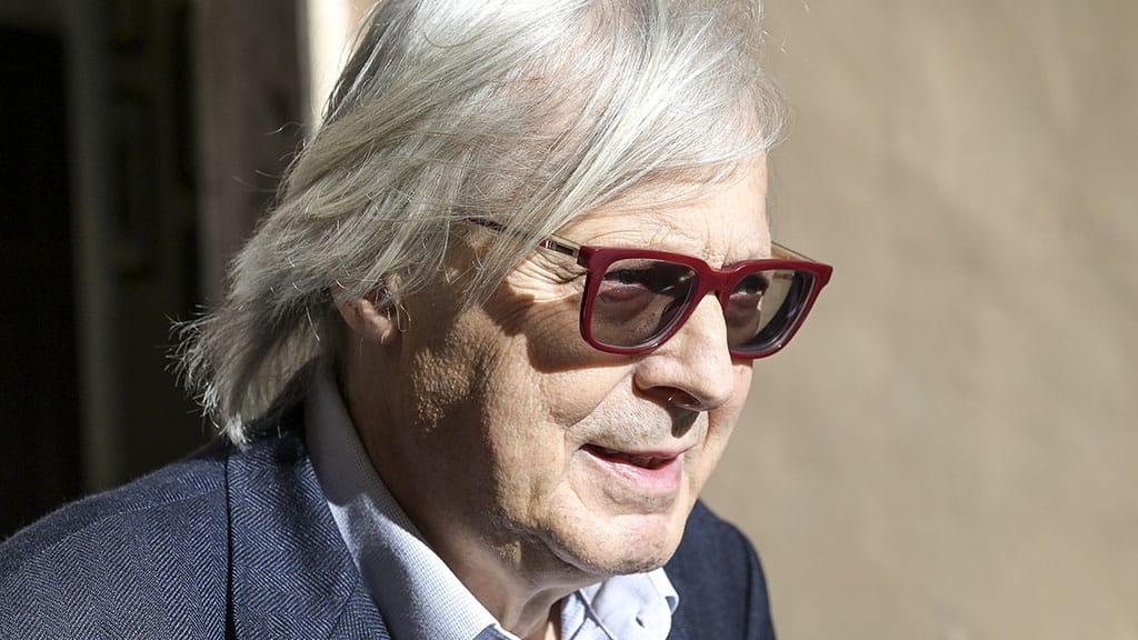 Vittorio Sgarbi guarito dal cancro
