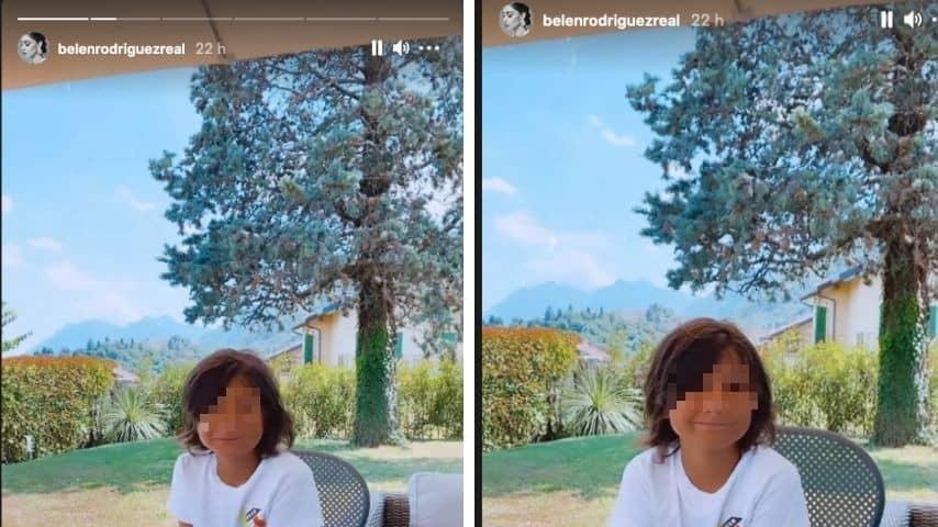 Santiago risponde a mamma Belén su Luna Marie
