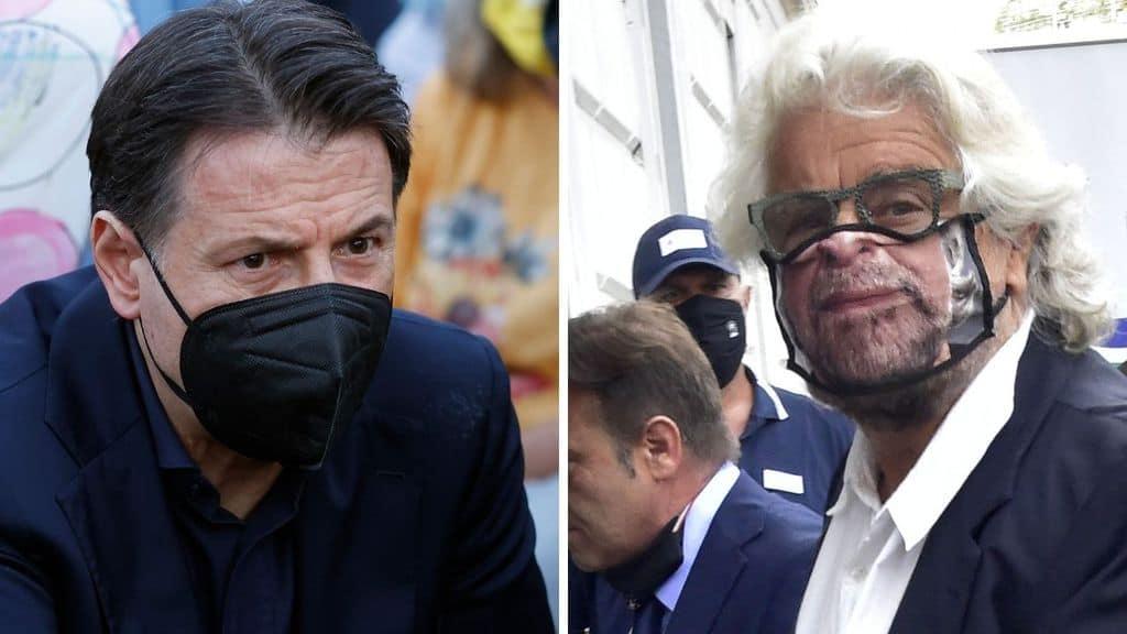 Giuseppe Conte in crisi con Grillo. Pronto a lasciare il Movimento