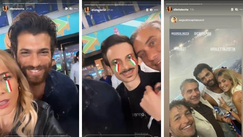 Diletta Leotta e Can Yaman insieme a Italia Turchia