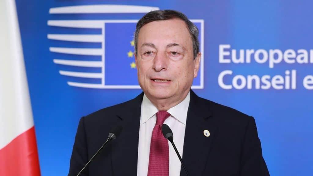 draghi al consiglio europeo