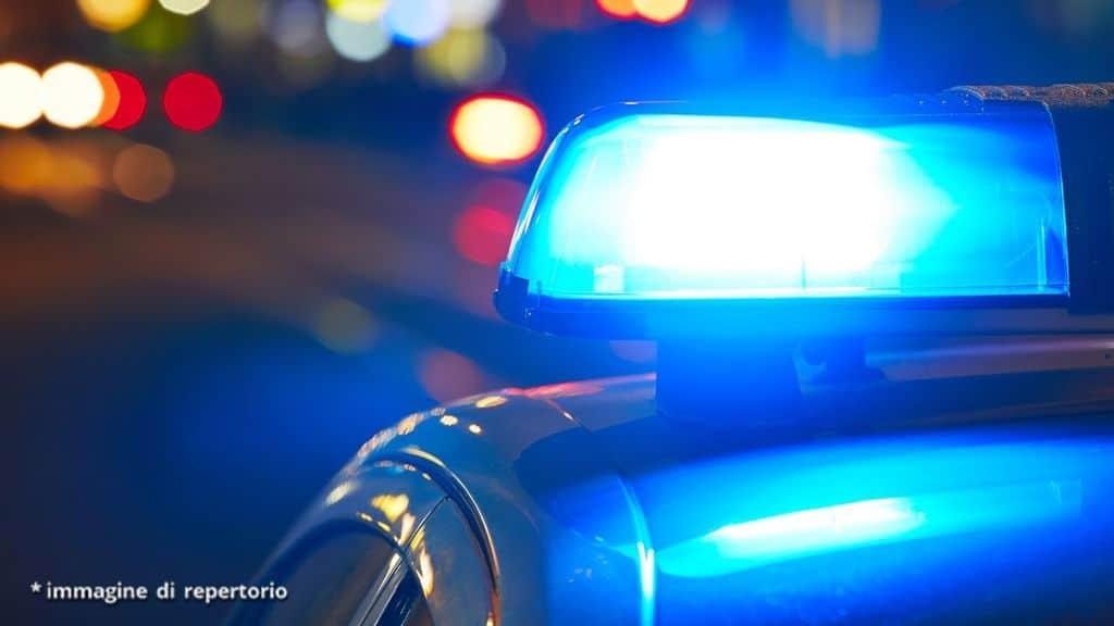 lampeggianti polizia