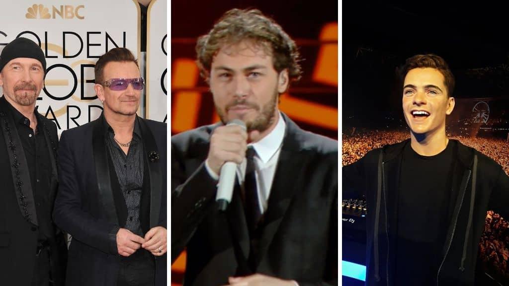 L'inno degli Europei 2021 di Martin Garrix, Bono e The Edge accusato di plagio ai Pinguini Tattici Nucleari