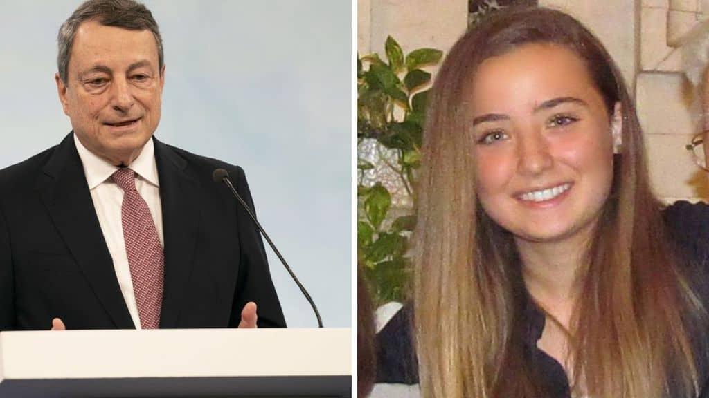 Mario Draghi esprime cordoglio per la morte di Camilla Canepa