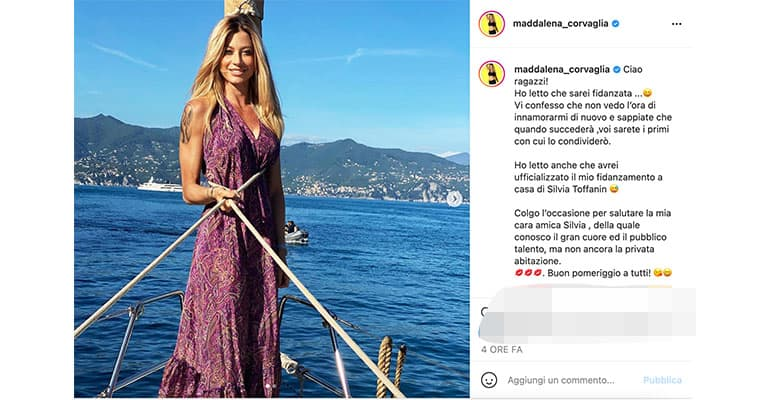 post di Maddalena Corvaglia su Instagram