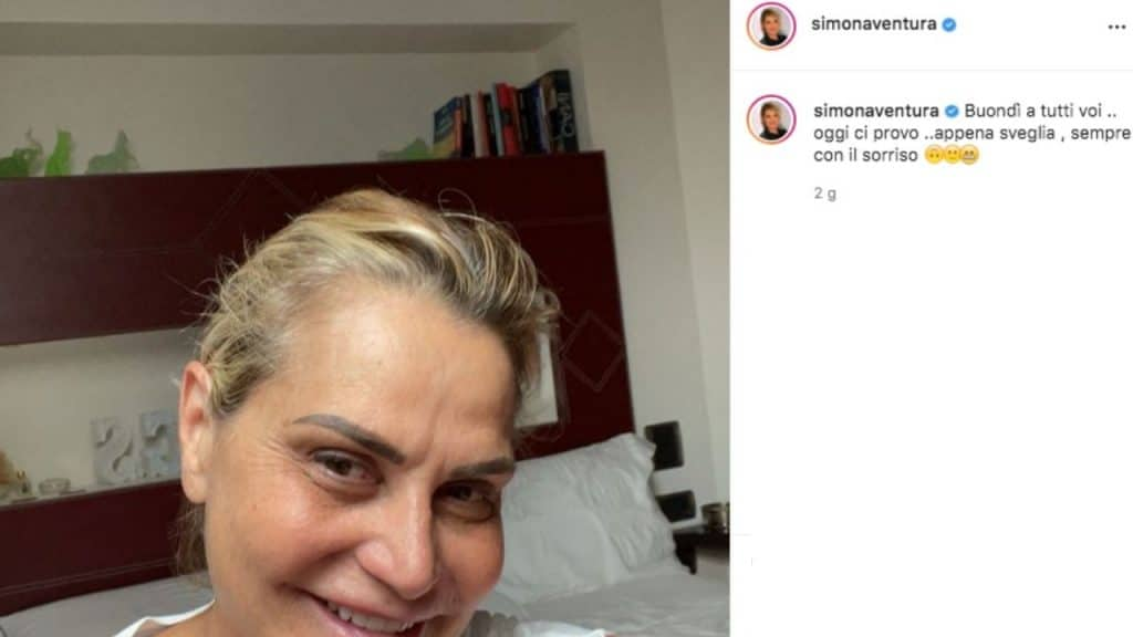 Simona Ventura: la foto che ha diviso i social