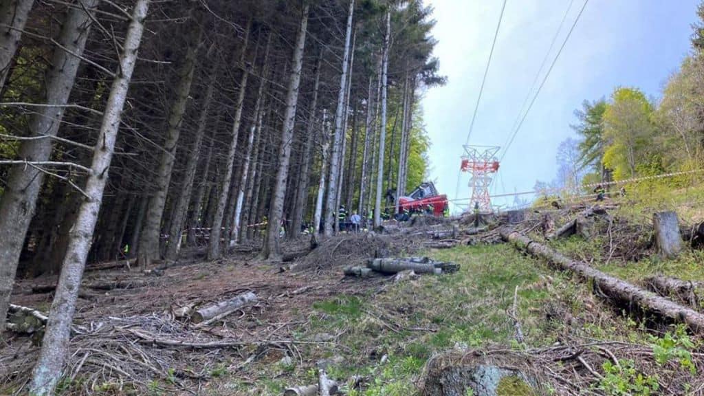 Funivia Stresa-Mottarone, diffuso il video dell'incidente. La Procura di Verbania: